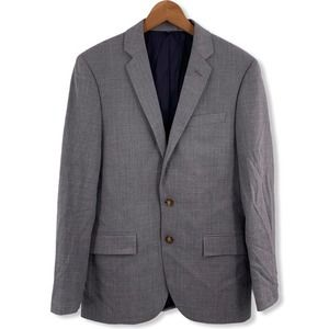 J Crew Grey Thompson Wool Blazer Jacket 38S New